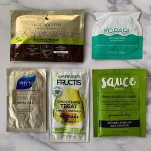 Other - Hair Mask Bundle 5 Mask Packs!